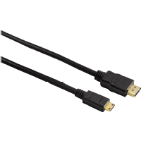 HAMA High Speed HDMI-Kabel Stecker Typ A - Stecker Typ C (Mini), 2 m