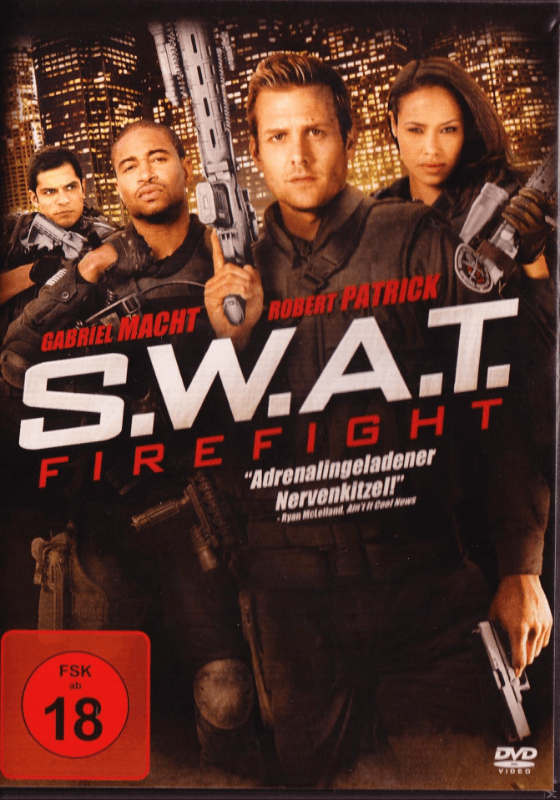 SWAT - FIREFIGHT - (DVD)