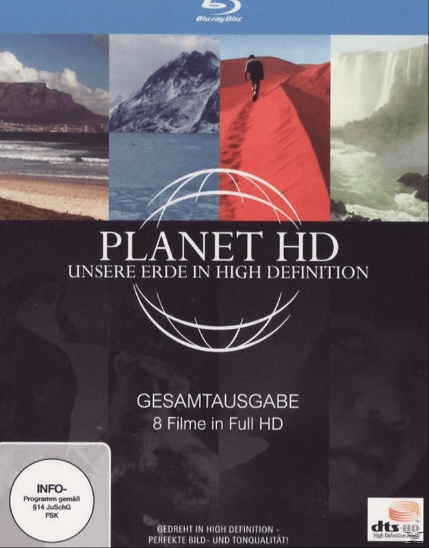 Planet HD - Unsere Erde in High Definition: Gesamtausgabe - (Blu-ray)