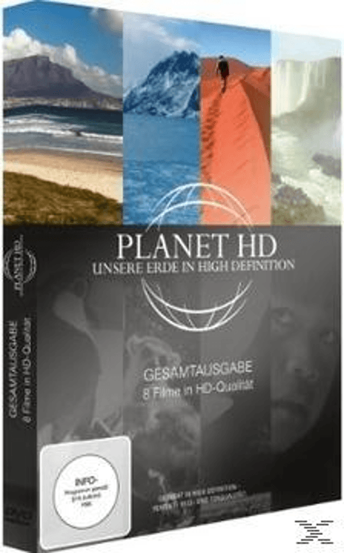 Planet HD - Unsere Erde in High Definition: Gesamtausgabe - (DVD)