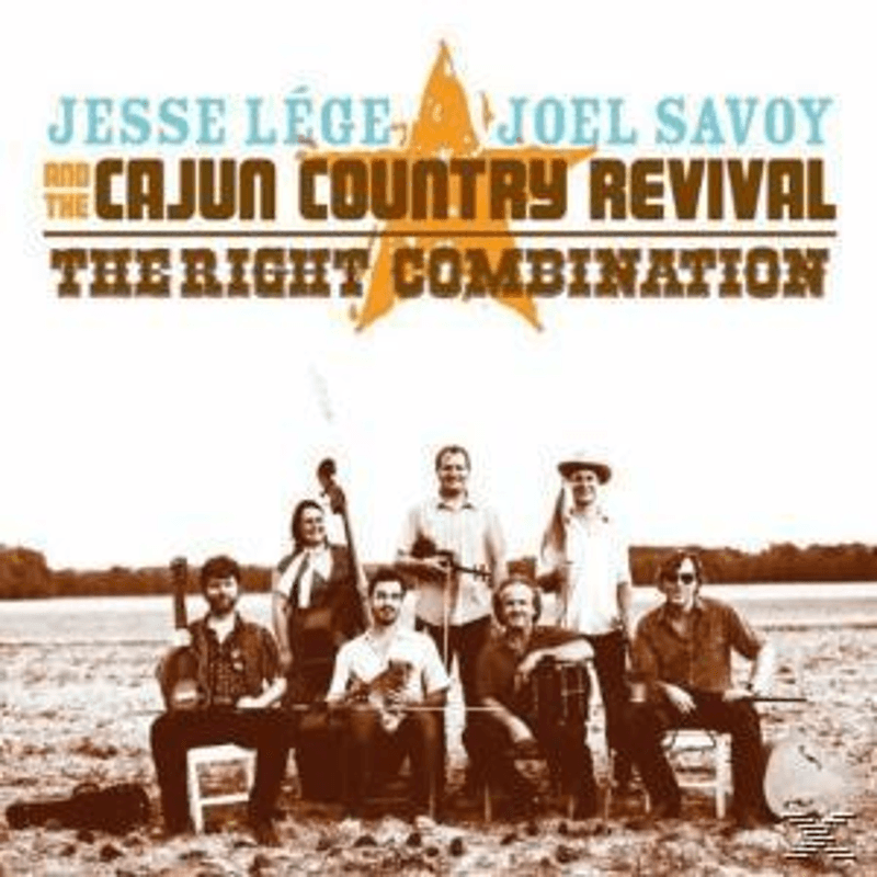 Jesse & Joel Savoy & Cajun Country Revival Lege - The Right Combination - (CD)