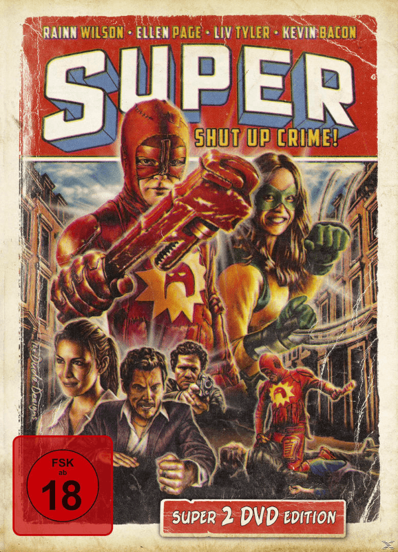 SUPER (MEDIABOOK EDITION) - (DVD)