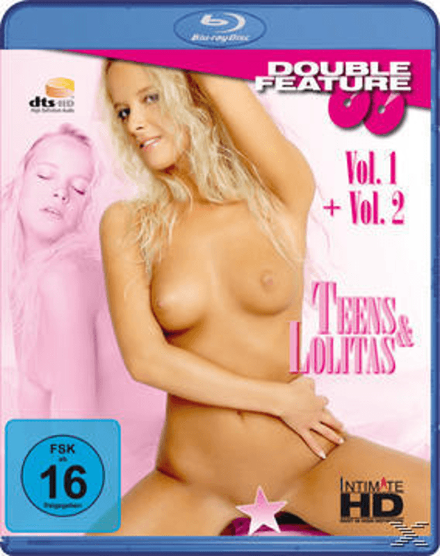 EROTIK DOUBLE FEATURE - TEENS & LOLITAS Erotik Blu-ray