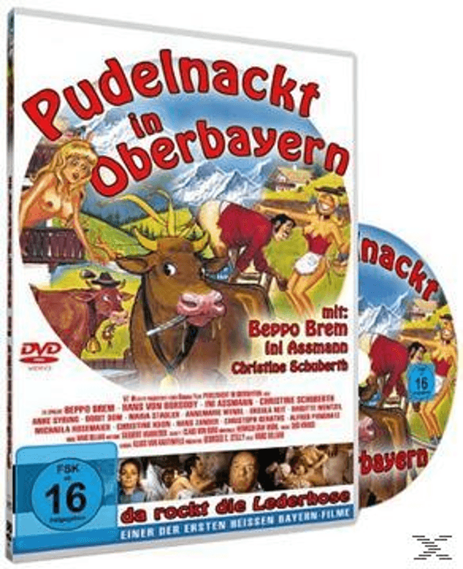 Pudelnackt in Oberbayern - (DVD)