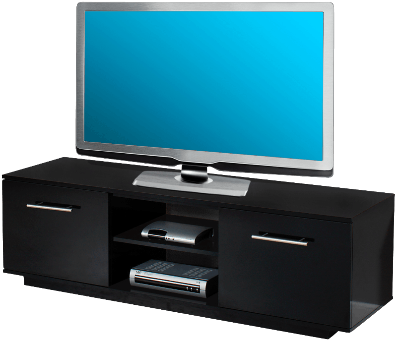 tv lowboard schwarz preis vergleich 2016. Black Bedroom Furniture Sets. Home Design Ideas