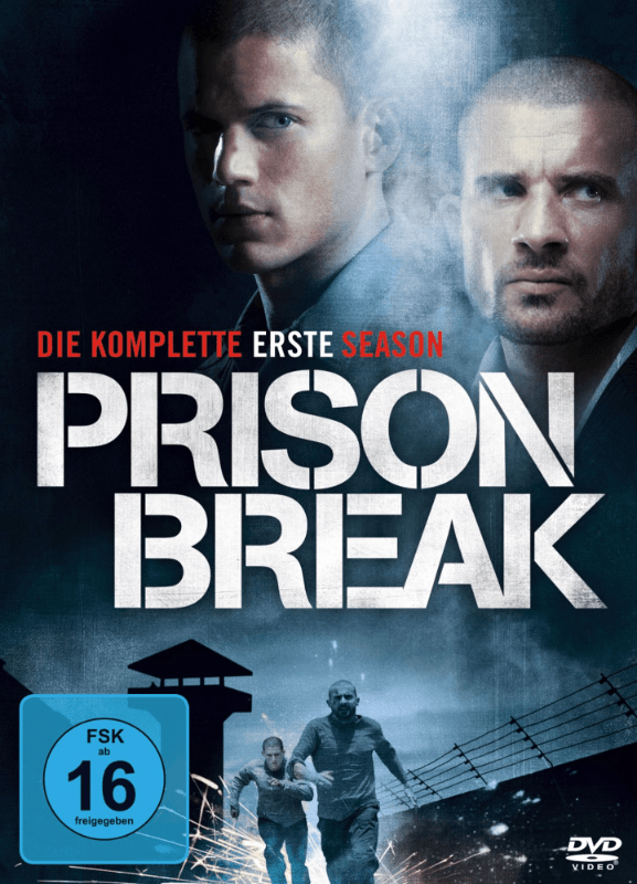 Prison Break - Staffel 1 - (DVD)