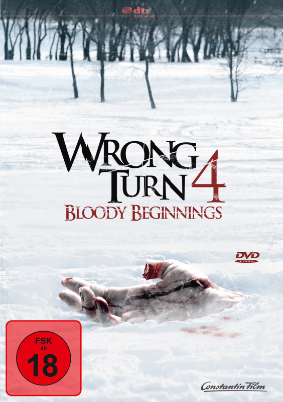 Wrong Turn 4 Action DVD