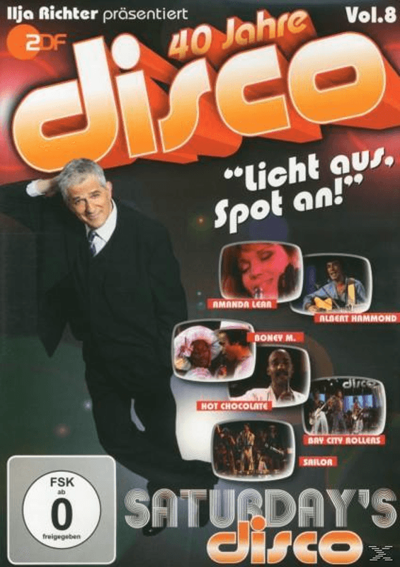 Various, Ilja Richter - SATURDAY S DISCO - DISCO MIT ILJA RICHTER - (DVD)