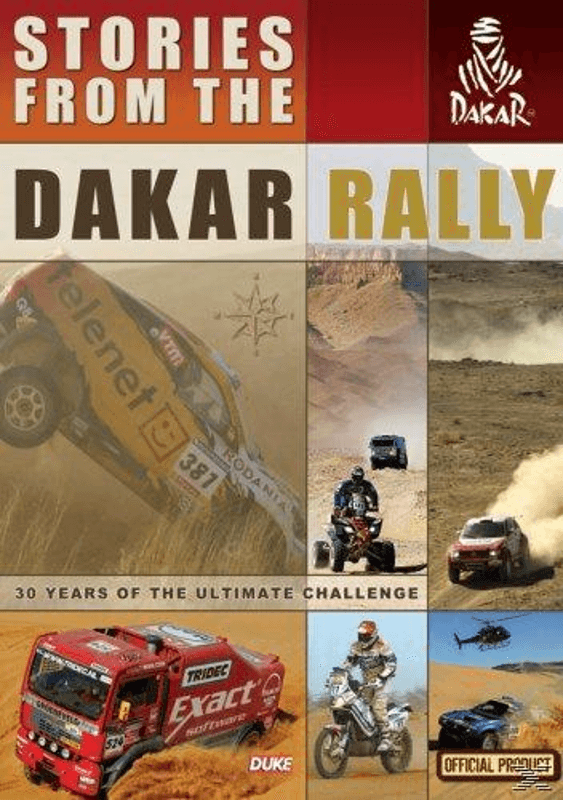 Stories of the Dakar Rally - (DVD)