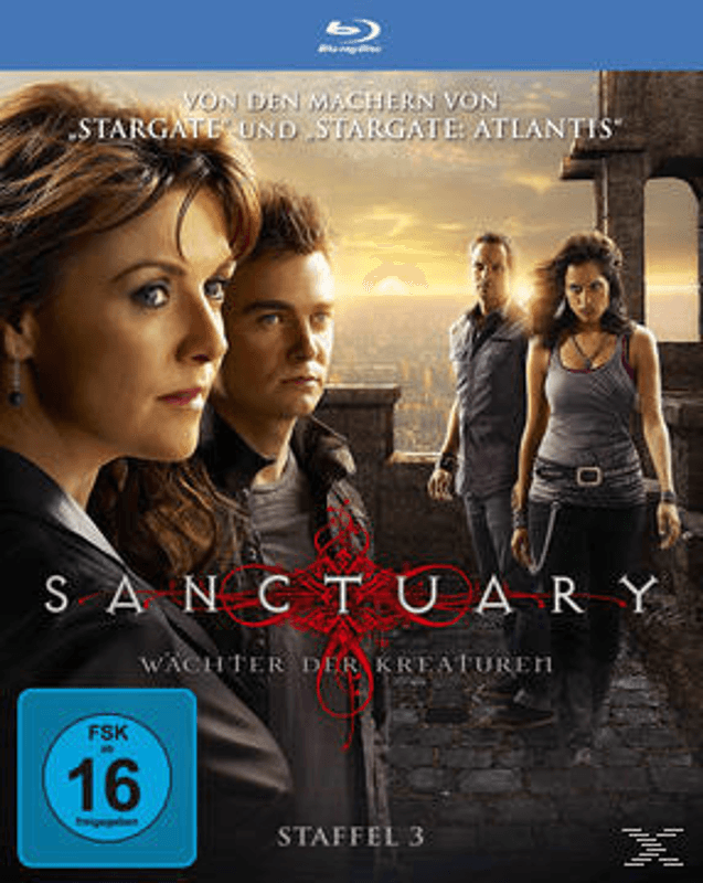 Sanctuary - Staffel 3 Science Fiction Blu-ray