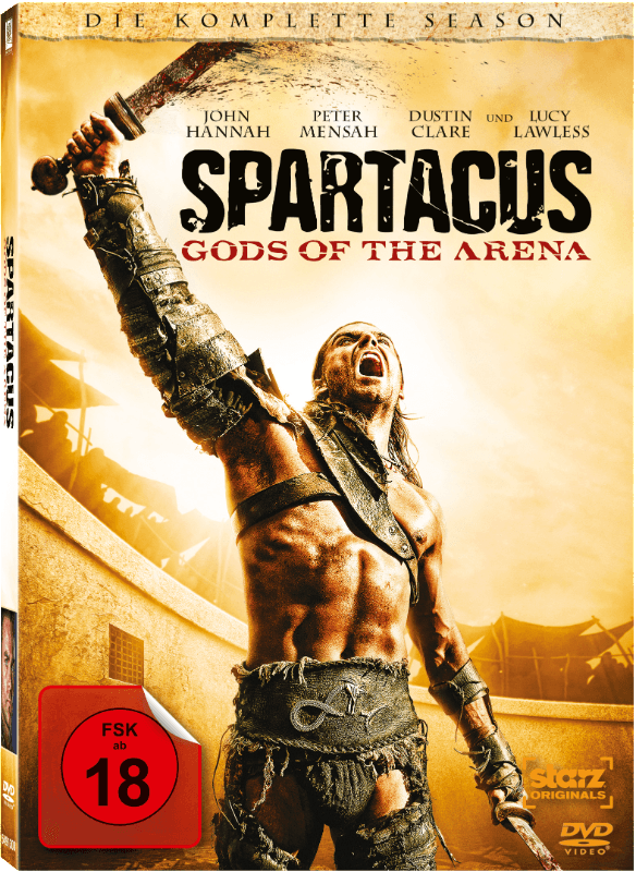Spartacus - Gods of the Arena Action DVD