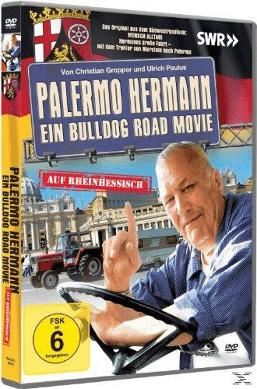 Palermo Hermann-Ein Bulldog Road Movie - (DVD)
