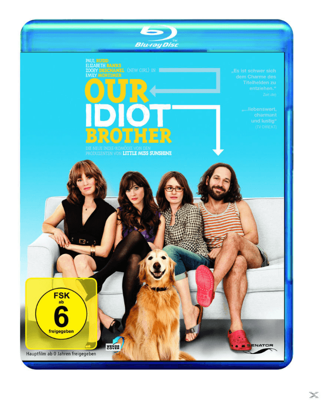 Our Idiot Brother - (Blu-ray)