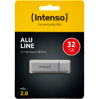 INTENSO Alu Line 32 GB silber, Kategorie: USB-Sticks