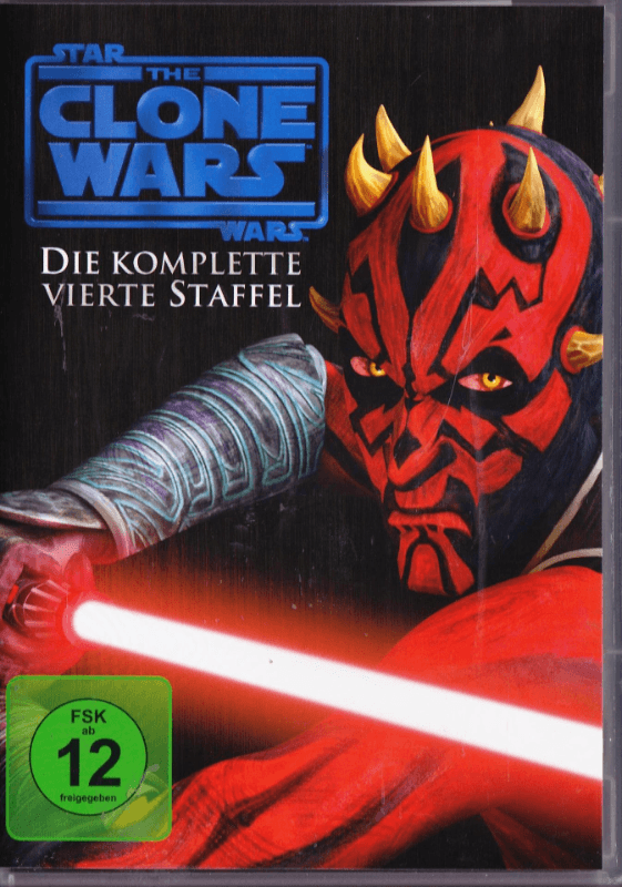 Star Wars: The Clone Wars - Die komplette 4. Staffel - (DVD)