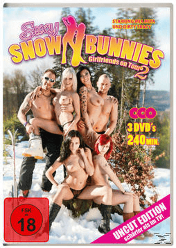 SEXY SNOW BUNNIES - GIRLFRIENDS ON TOUR 2 Erotik DVD