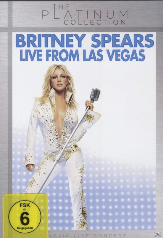 Britney Spears - BRITNEY SPEARS LIVE FROM LAS VEGAS - (DVD)