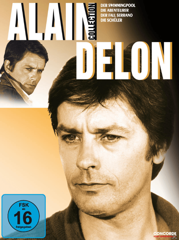 Alain Delon Collection - (DVD)