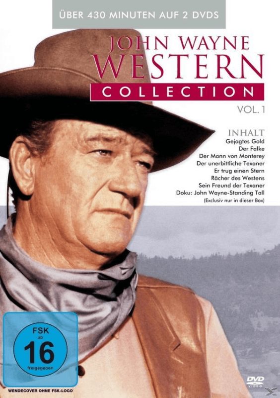 John Wayne - Western Collection Vol.1 - (DVD)