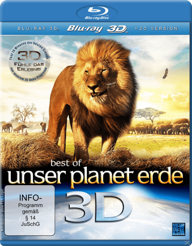 Best of Unser Planet Erde (3D)