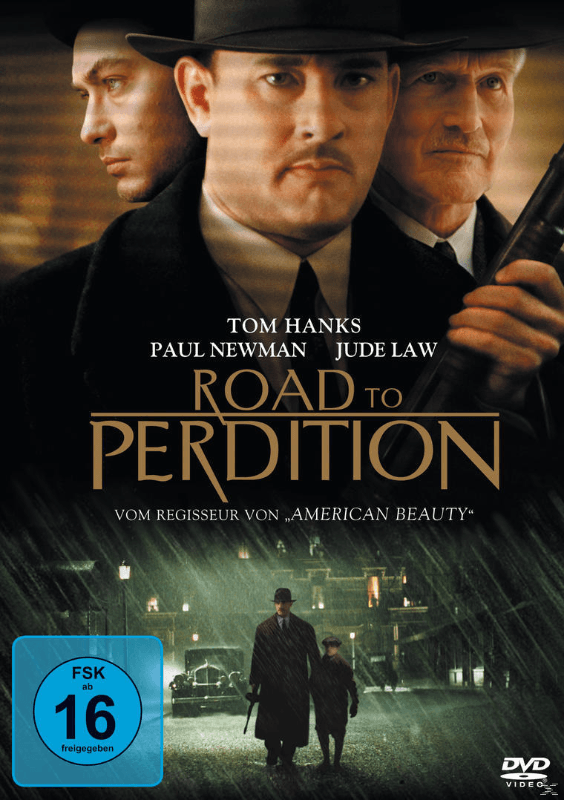 Road to Perdition Thriller DVD