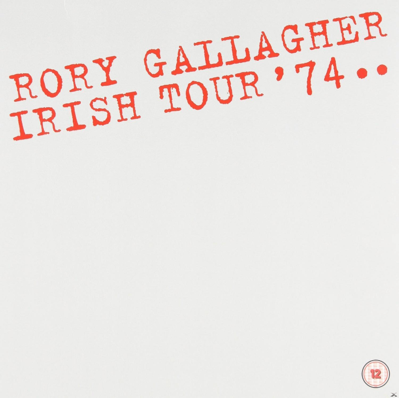 Rory Gallagher - Irish Tour ´74 - (CD)