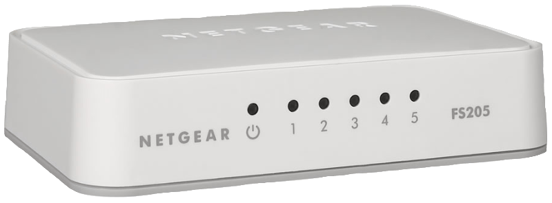 NETGEAR FS 205-100PES, Switch