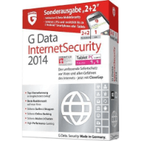 GDATA SOFTWARE GMBH (SOFTW.) G Data InternetSecurity 2014 Sonderausgabe 2+2, Kategorie: Sicherheit / Internet Security