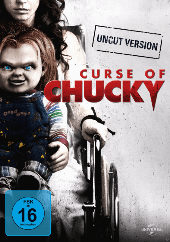 Curse of Chucky Horror DVD
