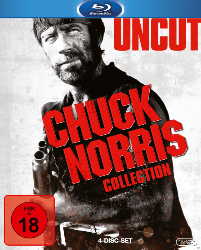 Chuck Norris Box Action Blu-ray
