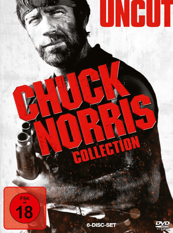 Chuck Norris Box Action DVD