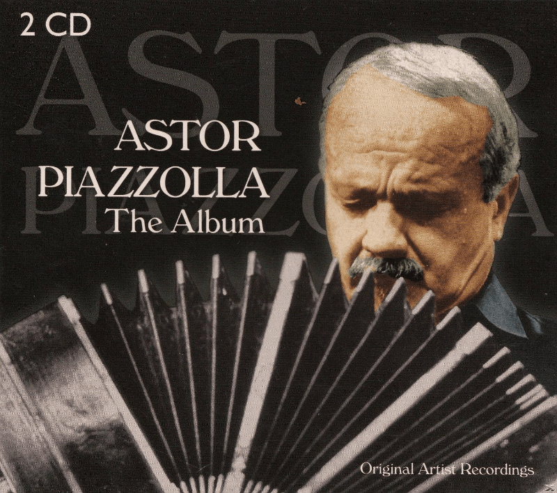 Astor Piazzolla The Album Weltmusik CD