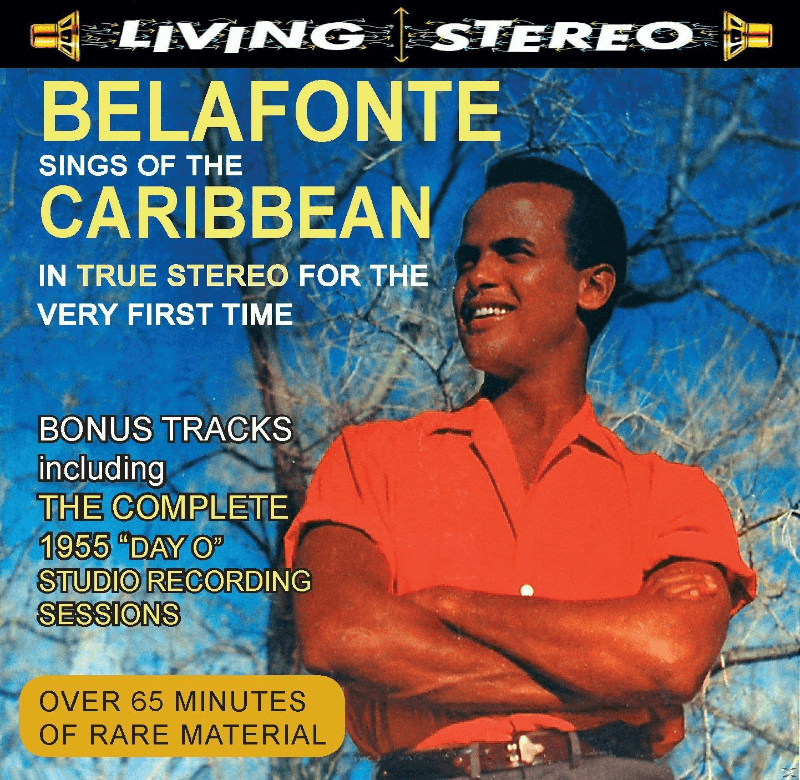 Harry Belafonte - Sings Of The Caribbean In True Ster - (CD)