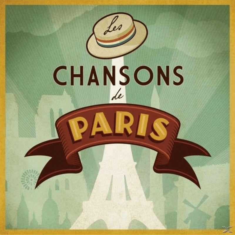 VARIOUS - Les Chansons De Paris (Box) (CD)