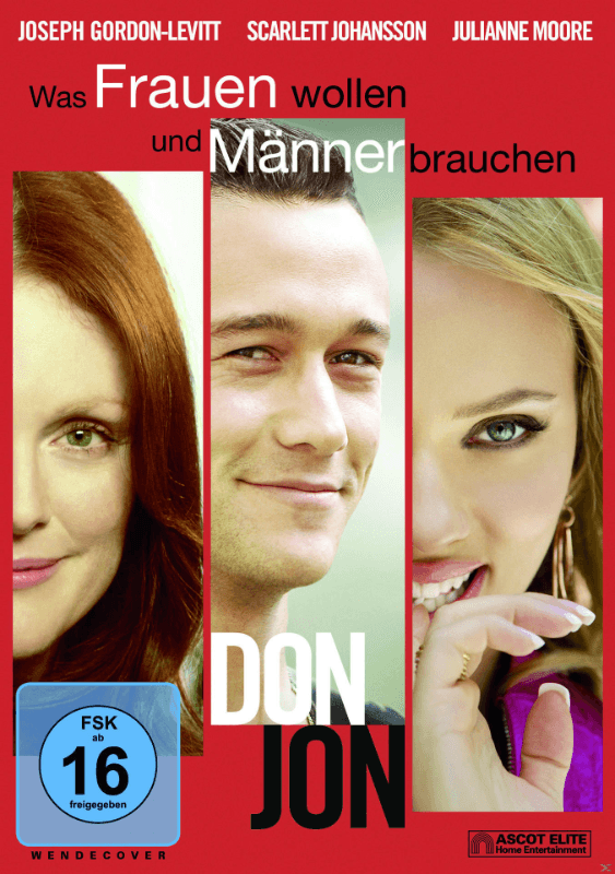Don Jon Komödie DVD