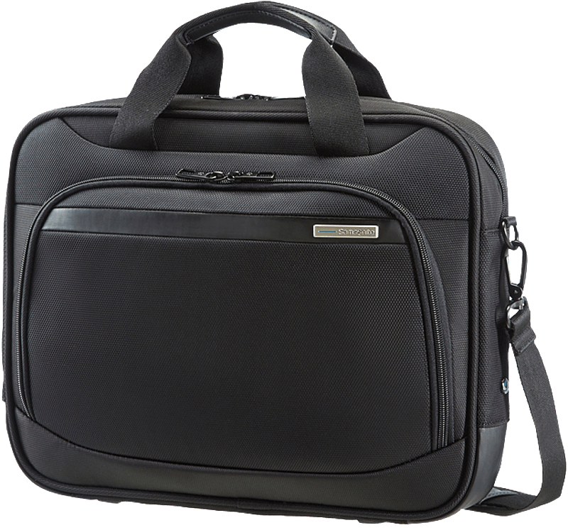 SAMSONITE VECTURA Slim Bailhandle 13,3 Zoll Notebooktasche Notebooktasche, Schwarz