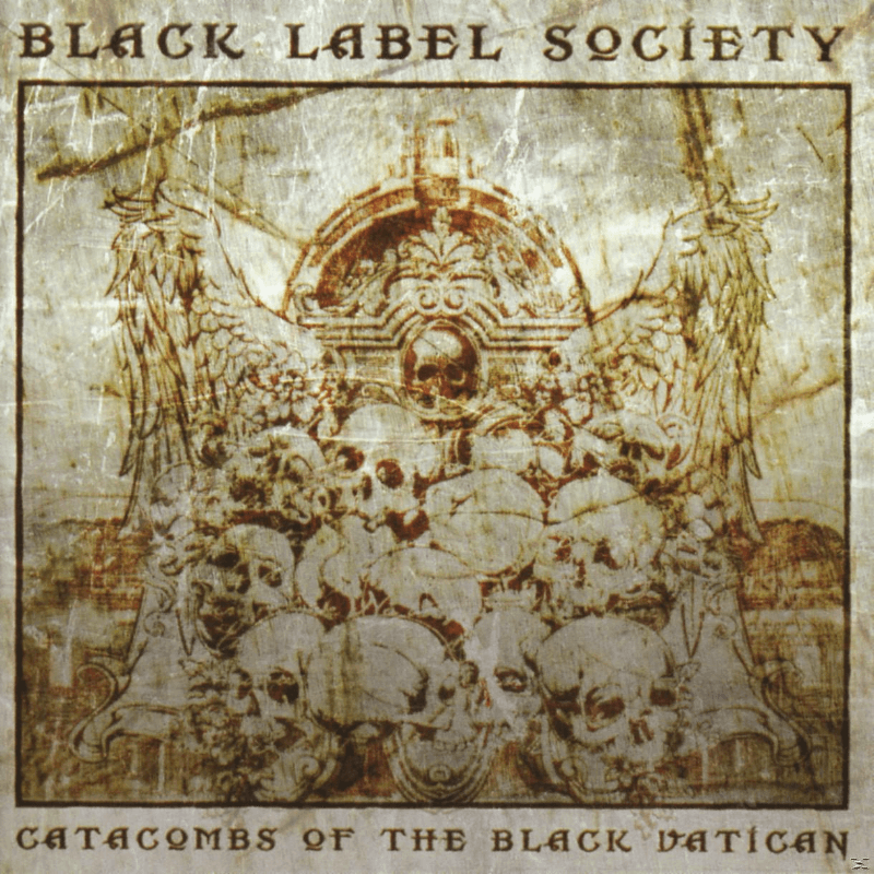 Black Label Society Catacombs Of The Black Vatican Heavy Metal CD