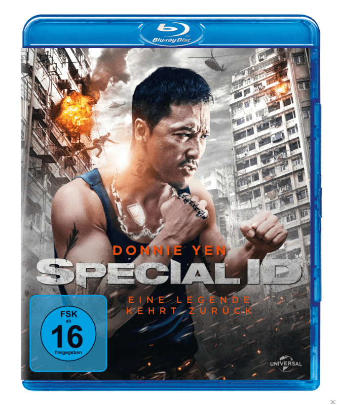 Special ID Action Blu-ray