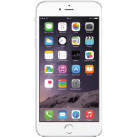 APPLE iPhone 6 Plus 16 GB silber