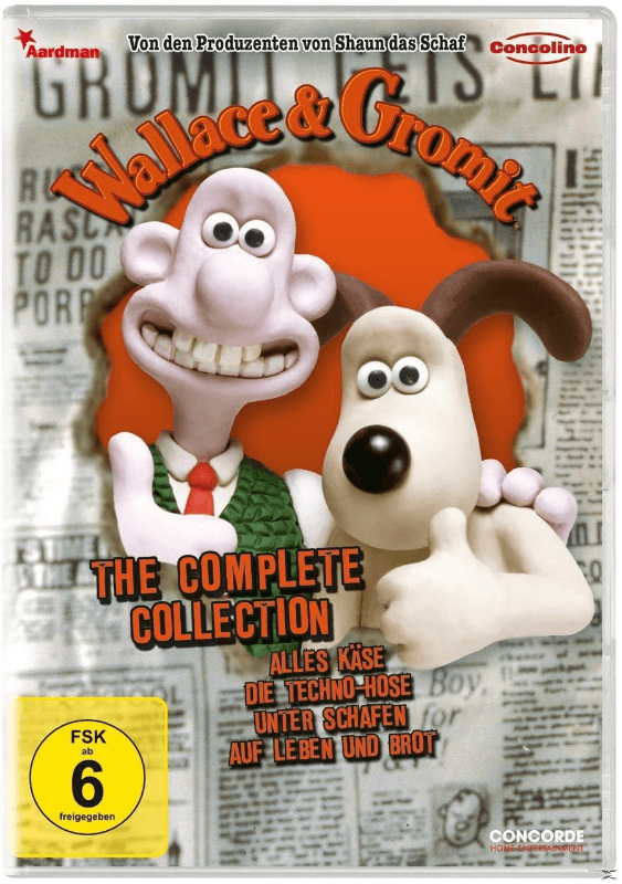 THE COMPLETE COLLECTION Animation/Zeichentrick DVD