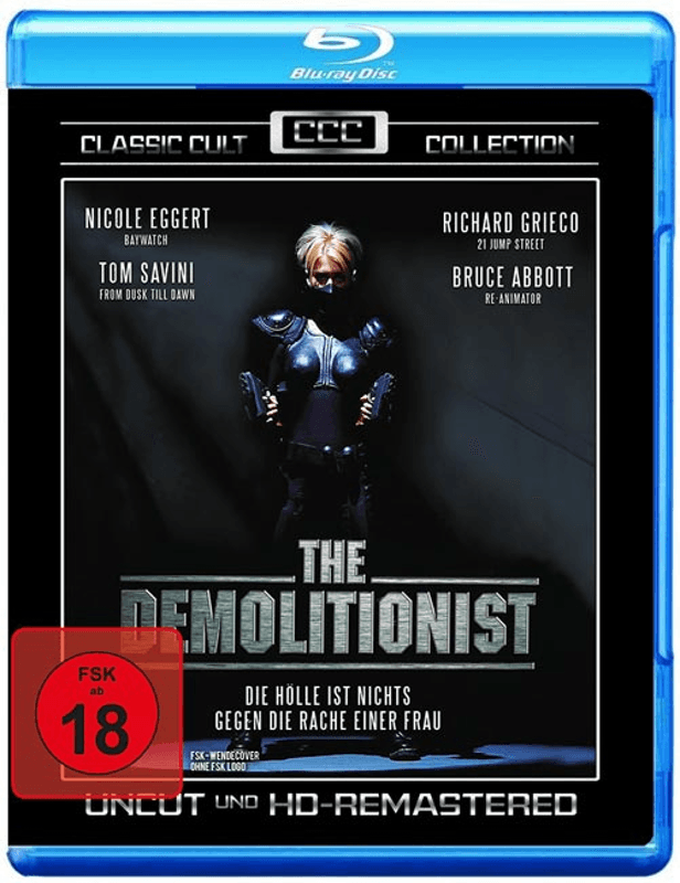 The Demolitionist - (Blu-ray)