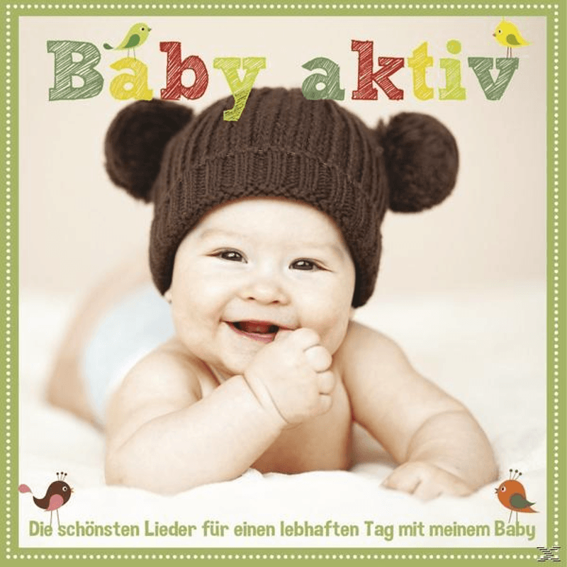 Various - Baby Aktiv-D.S.Lieder F.E.Lebhaften Tag M.M.Baby - (CD)