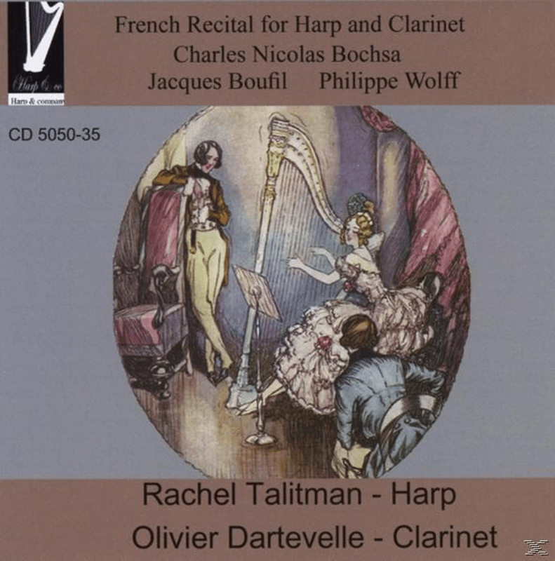 French Recital for Harp and Clarinet
