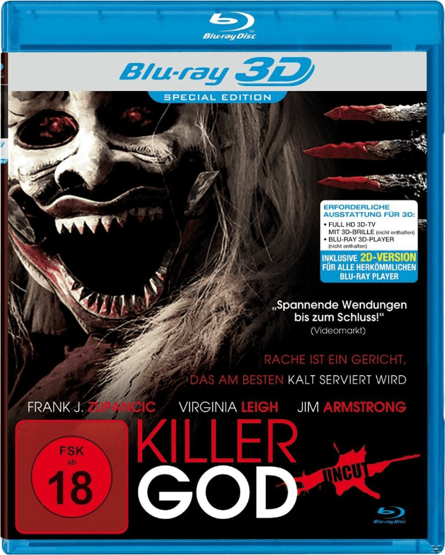Killer God - (Blu-ray 3D)