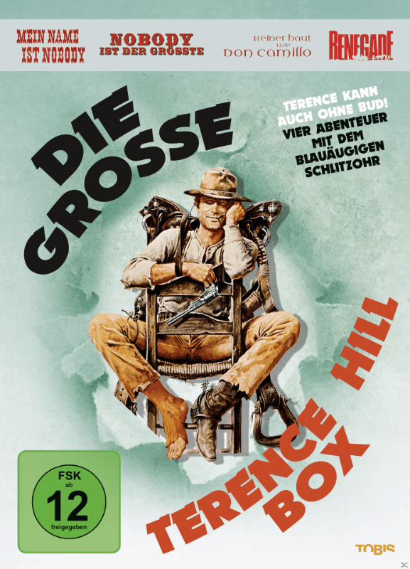 Die große Terence Hill-Box - (DVD)