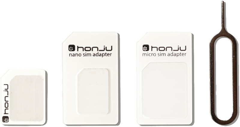 HONJU SIM-Adapter-Set All-in-1