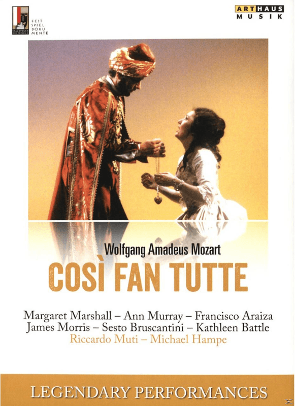 Marshall/Murray/Araiza/Morris/Muti - Cosi Fan Tutte - (DVD)