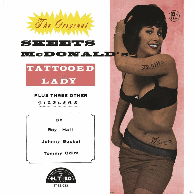 Various - Skeets Mcdonald´s Tattooed Lady - (Vinyl)