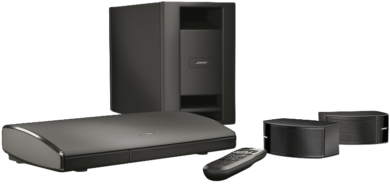 Lifestyle SoundTouch 235 entertainment system, Heimkinosystem, Schwarz