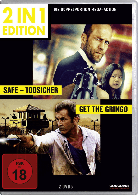 Get the Gringo + Safe - Todsicher - (DVD)